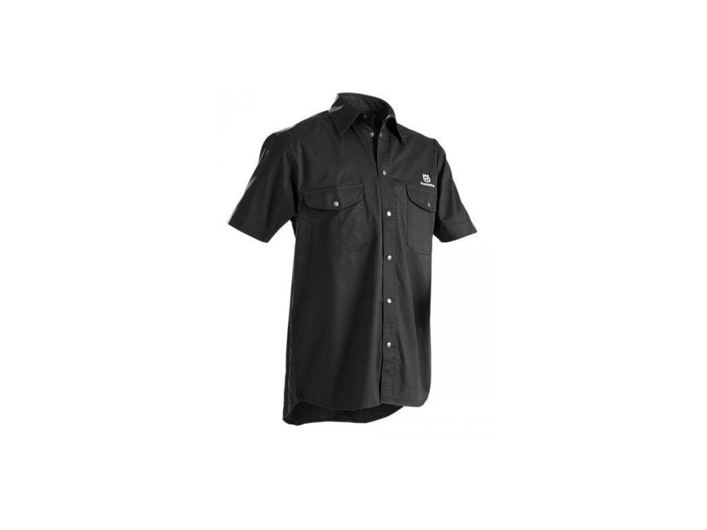 Husqvarna košile s krátkým rukávem - LEZA.cz e5d91724b7